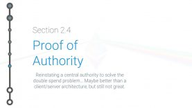 Cryptoeconomics – 2.4 – Proof of Authority