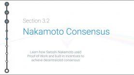 Cryptoeconomics – 3.2 – Bitcoin: Nakamoto Consensus