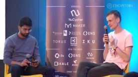 """""""Decentralized finance is going to come first"""" – Vitalik Buterin at ETHCapeTown"""
