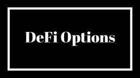 DeFi On Chain Options
