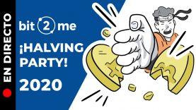 🔴DIRECTO ¡BITCOIN HALVING PARTY! 🎊🎉Momento único en la historia de Bitcoin