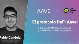 El protocolo DeFi Aave: Flash Loan, mercado uniswap y modelo gobierno