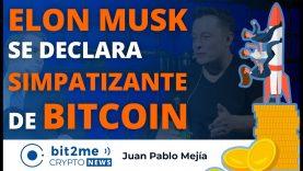 🔵 🚀 ELON MUSK se declara SIMPATIZANTE de BITCOIN – Bit2Me Crypto News – 02.02.2021