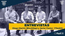 Entrevista a Diego Martín de Blocknap y Javier Pastor de Tikebit