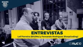 Entrevista Leif Ferreira de Bit2Me y Fernando Rodríguez de KeepCoding
