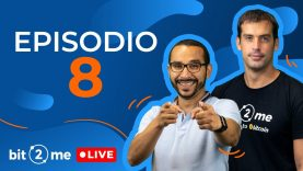 🔴  Episodio 8 – Bit2Me LIVE @Bitcoin Rock Café