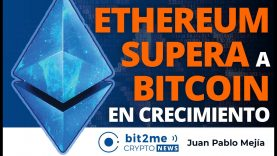 🔵 🎉 ETHEREUM SUPERA a BITCOIN en crecimiento – Bit2Me Crypto News – 20.01.2021