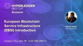European Blockchain Service Infrastructure (EBSI) Introduction