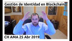Gestión de Identidad en Blockchain – Charles Hoskinson