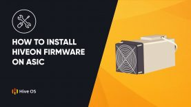 How to Install Hiveon firmware on ASIC || ASIC Mining Booster