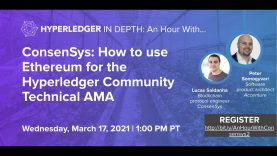 How to use Ethereum for the Hyperledger Community Technical AMA