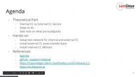 Hyperledger Fabric external chaincode service