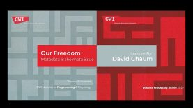 Interview David Chaum   The Father of E-Cash & XX.Network