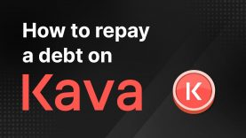 KAVA101 – How to Repay a Debt on Kava