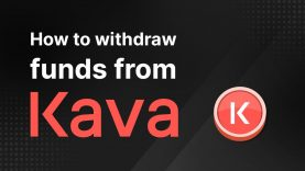 KAVA101 – How to Withdraw Funds from Kava via Trust Wallet