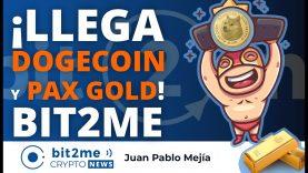 🔵 🆕 ¡Llega DOGECOIN y PAX GOLD! a Bit2Me – Bit2Me Crypto News – 12-05-2021