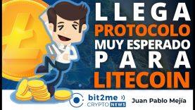 🔵 🎉 Llega PROTOCOLO muy esperado para LITECOIN – Bit2Me Crypto News – 17.03.2021