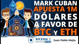 🔵 😲 Mark Cuban APUESTA 1M dólares a favor de BITCOIN y ETHEREUM – Bit2Me Crypto News – 03-05-2021