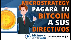 🔵 💸 MICROSTRATEGY pagará en BITCOIN a sus DIRECTIVOS – Bit2Me Crypto News – 13.04.2021