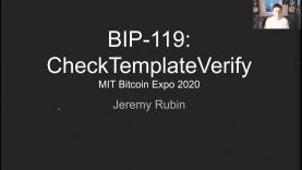 MIT Bitcoin Expo 2020 – BIP 119