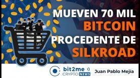 🔵 💸  Mueven 70 mil BITCOIN del MERCADO NEGRO – Bit2Me Crypto News