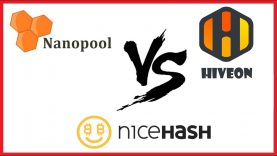 Nanopool vs Nicehash vs Hiveon pool! Cual es mejor?