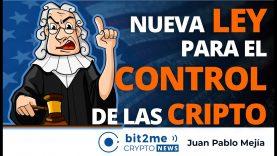 🔵 🔥 Nueva LEY para el CONTROL de las CRIPTO – Bit2Me Crypto News – 21.12.2020