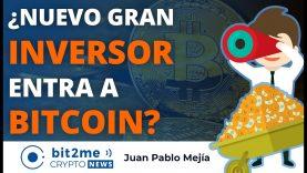 🔵 💰 ¿Nuevo gran INVERSOR entra a BITCOIN? – Bit2Me Crypto News – 27.01.2021
