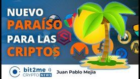 🔵🏝️ Nuevo PARAÍSO para las CRIPTOMONEDAS y BITCOIN – Bit2Me Crypto News – 16.10.2020