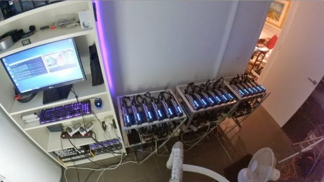 [Fase 1.3 La Mina] 480 Mh/s Ethereum! 18 Rx 580!