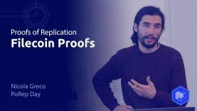 PoRep Day 2020 // Filecoin Proofs – Nicola Greco