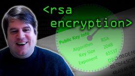 Prime Numbers & RSA Encryption Algorithm – Computerphile