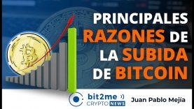 🔵 🚀Principales RAZONES de la SUBIDA de BITCOIN – Bit2Me Crypto News – 20.11.2020