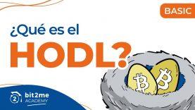 🎓¿QUÉ es HODL (Hold)?- Bit2Me Academy