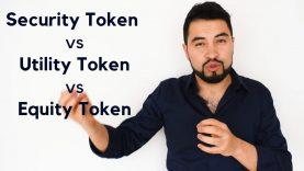 ¿Qué es un Security Token, Utility Token y un Equity Token?
