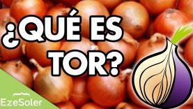 ¿Qué es y cómo funciona TOR?