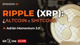🔴 Ripple (XRP): ¿Inversión o especulación? ¿Altcoin o Shitcoin?  – Bit2Me LIVE Ep. 32