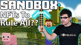 Sandbox: Crypto Meets Minecraft & SAND Potential!! 🏡
