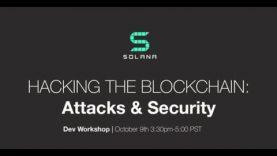 SF Blockchain Week: Attacks & Security