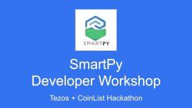 SmartPy Workshop – Tezos + CoinList Hackathon