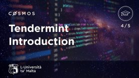 Tendermint Introduction – Cosmos at University of Malta