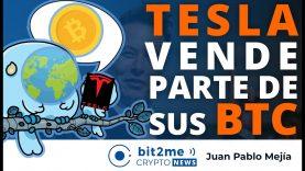 🔵 🚗 TESLA vende parte de sus BITCOIN – Bit2Me Crypto News – 27.04.2021