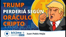 🔵 🇺🇸 TRUMP perdería las elecciones según ORÁCULO CRIPTO – Bit2Me Crypto News – 01.10.2020