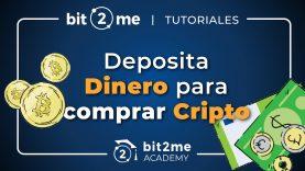👩🏫 TUTORIAL cómo DEPOSITAR DINERO en Bit2Me para comprar CRIPTOMONEDAS en 2020