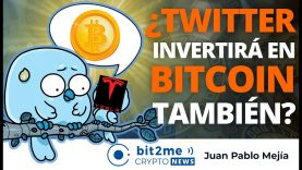 🔵 🤔 ¿TWITTER invertirá en BITCOIN también? – Bit2Me Crypto News – 11.02.2021