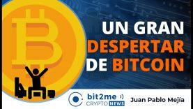 🔵🌅 Un gran DESPERTAR en BITCOIN – Bit2Me Crypto News – 13.10.2020