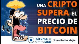 🔵 🤯 Una CRIPTOMONEDA supera el precio de BITCOIN – Bit2Me Crypto News – 13-05-2021