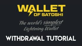 Wallet of Satoshi Withdrawal Tutorial | Lightning Network | How to transfer Bitcoin
