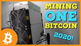 What Do YOU Need to MINE ONE BITCOIN In 2020?! - Bit2Me TV