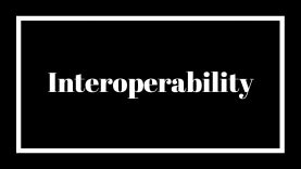 What is interoperability and why is it important?
